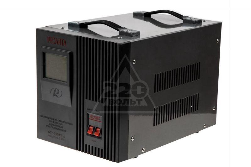 Стабилизатор напряжения однофазный REXANT АСН-3000/1-Ц