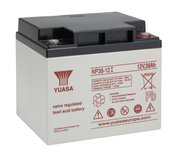 Аккумуляторная батарея YUASA NPL 38-12I