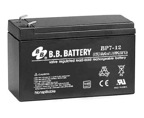 Аккумуляторная батарея B.B.Battery BP 7-12