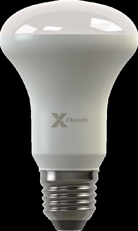 Светодиодная (LED) лампа X-Flash FUNGUS E27 8W(8вт),белый свет 4000K,световой поток 670лм,220V(в) (44955)