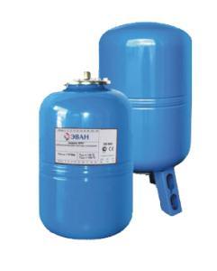 Мембранный расширительный бак для водоснабжения Эван WATV-100
