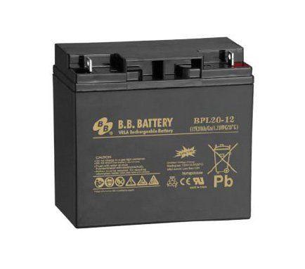 Аккумуляторная батарея B.B.Battery BPL 20-12