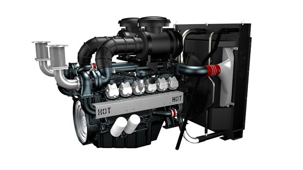 Дизельный двигатель Doosan DP222LC для дизель-генераторных электростанций