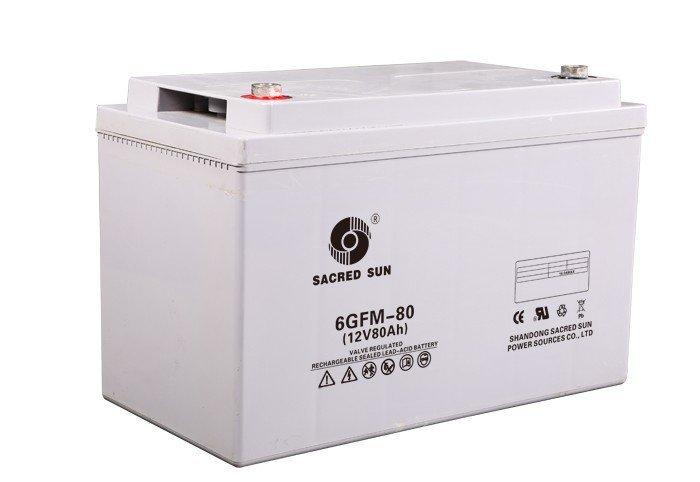 Аккумуляторная батарея Sacred Sun 6GFM-80