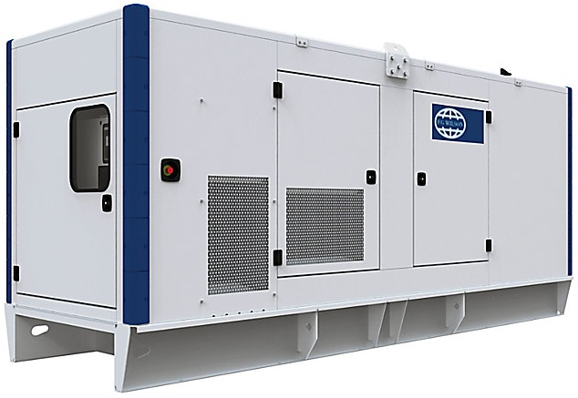 Трехфазная дизельная электростанция FG WILSON P400-3 кожух