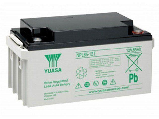 Аккумуляторная батарея YUASA NPL 65-12I