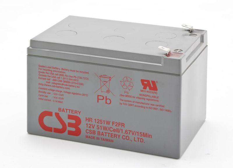 Аккумуляторная батарея CSB HR 1251 W
