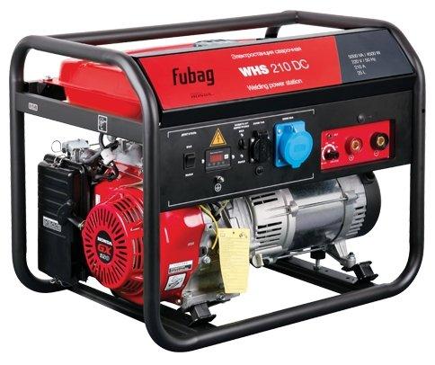 Бензиновая сварочная электростанция (генератор) FUBAG WHS 210 DDC