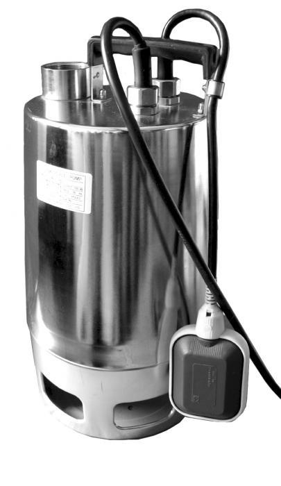 """Дренажный насос Heisskraft PSP 40.38.08.A.1 (Rp 1 1/2"""", 0.75 кВт, 1*230 В) поплавок, кабель 10 м"""