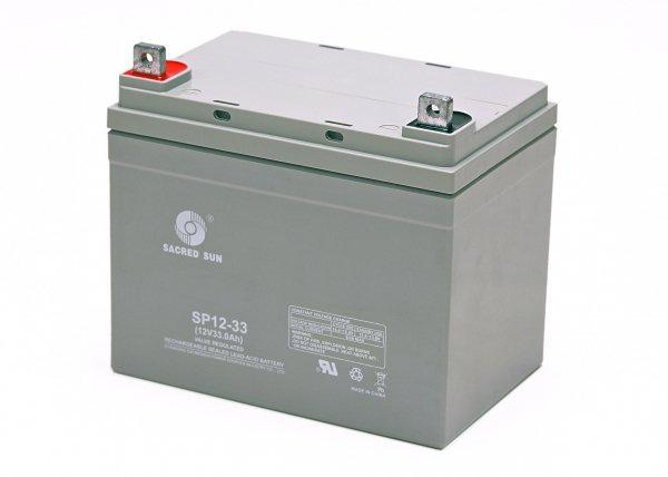 Аккумуляторная батарея Sacred Sun SP12-33
