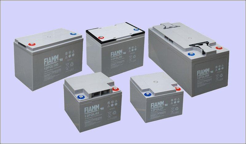 Аккумуляторная батарея FIAMM 12FGL27