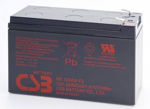 Аккумуляторная батарея CSB HR 1234 W