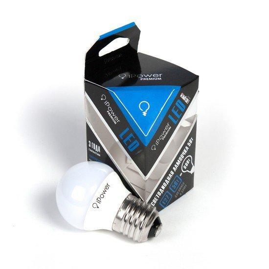 LED Лампа iPower Premium IPPB5W4000KE27
