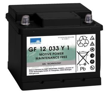 Аккумуляторная батарея Sonnenschein GF 12 033 Y 1