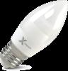 Светодиодная (LED) лампа X-Flash Candle E27 MF 6.5W(6,5вт),желтый свет 3000K, световой поток 500лм, 220V(в) (46010)