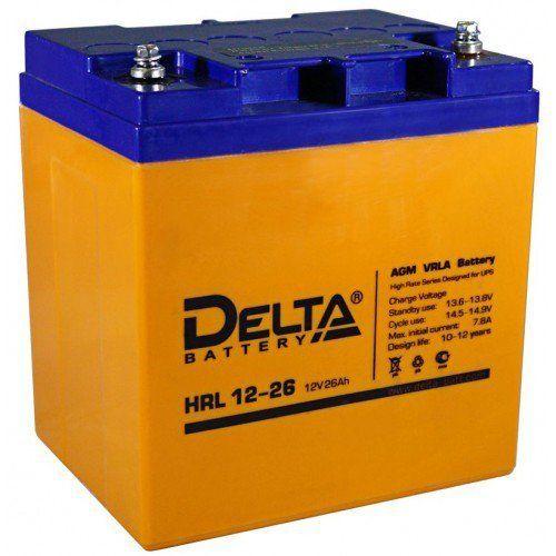 Аккумуляторная батарея DELTA HRL 12-26