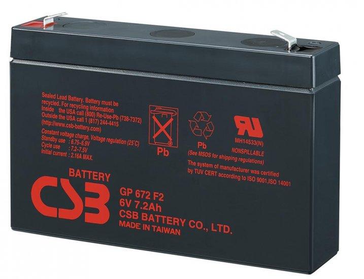 Аккумуляторная батарея CSB GP 672
