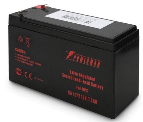 Аккумуляторная батарея POWERMAN CA1272/UPS