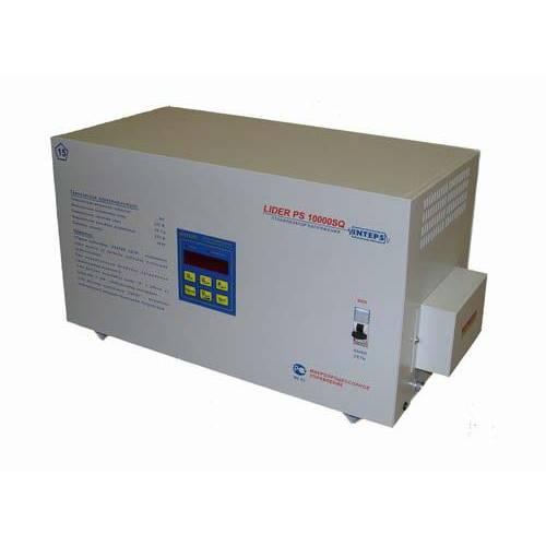 Однофазный стабилизатор напряжения LIDER PS 10000 SQ-E