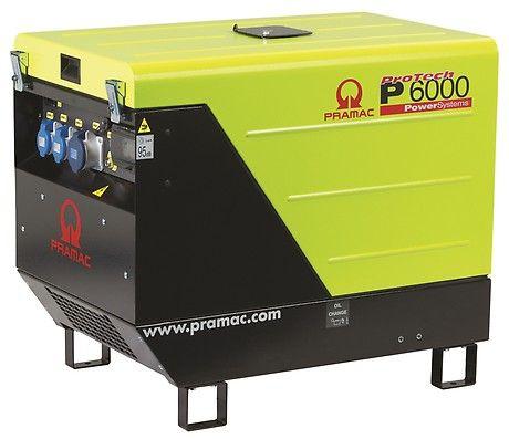 Дизельный генератор Pramac P6000, 230V, 50Hz #AVR #IPP