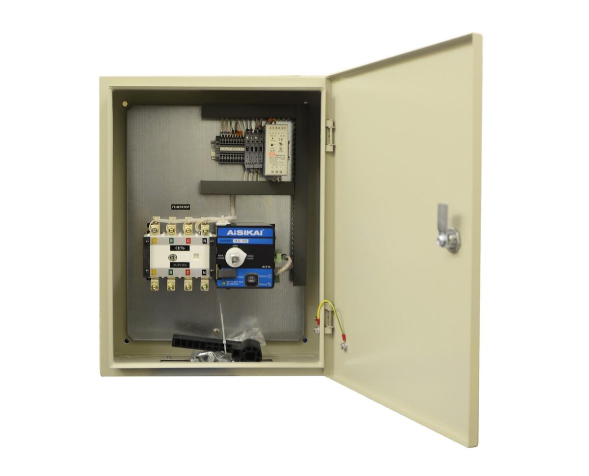 Блок АВР 200-320 кВт ПРОФ (630А, РКН)
