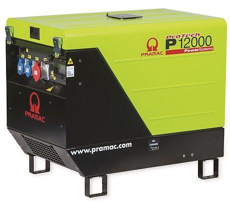 Бензиновый генератор Pramac  P12000, 400/230V, 50Hz #AVR #CONN #DPP