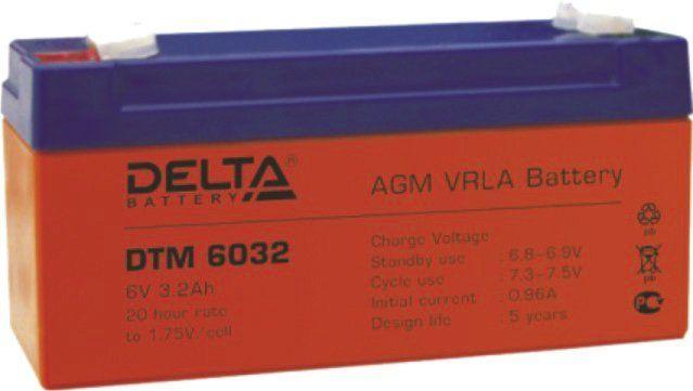 Аккумуляторная батарея DELTA DTM 6032