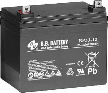 Аккумуляторная батарея B.B.Battery BP 33-12