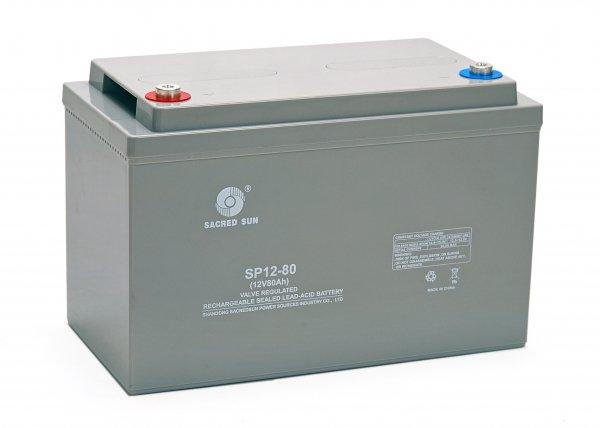 Аккумуляторная батарея Sacred Sun SP12-80