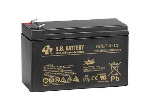 Аккумуляторная батарея B.B.Battery BPL 7,5-12