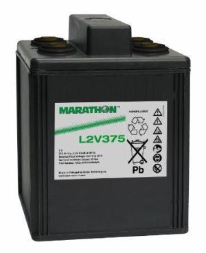 Аккумуляторная батарея MARATHON L 2V 375 (L 2/375)