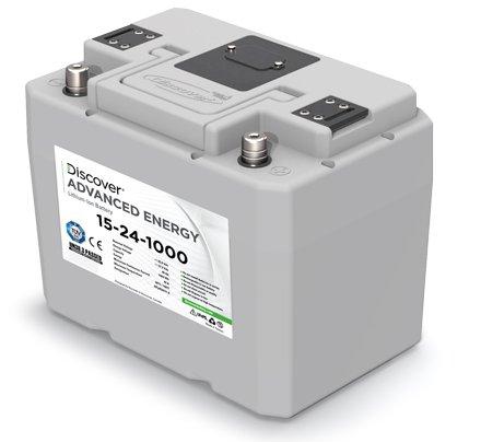 Литиевая аккумуляторная батарея Discover 15-24-1000+З/У S.P.E. CBHF3 24V 30А