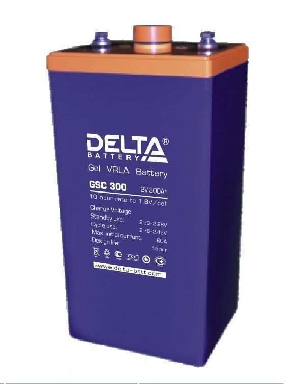 Аккумуляторная батарея DELTA GSC 600