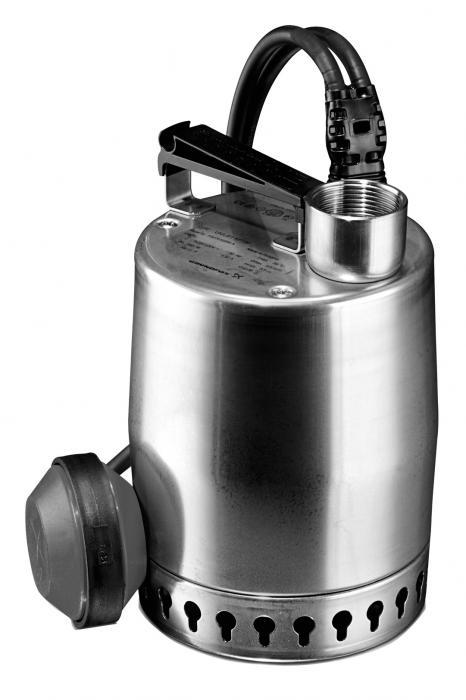 """Дренажный насос Heisskraft KSP 120.A.1 (Rp 1 1/4"""", 0.12 кВт, 1*230 В) поплавок, кабель 10 м"""