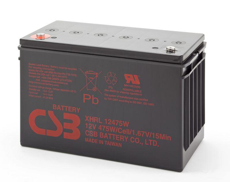 Аккумуляторная батарея CSB XHRL12475W