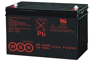 Аккумуляторная батарея WBR GPL 12520