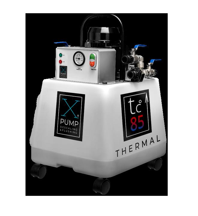 Промывочный насос для систем отопления и теплообменников  X-PUMP THERMAL
