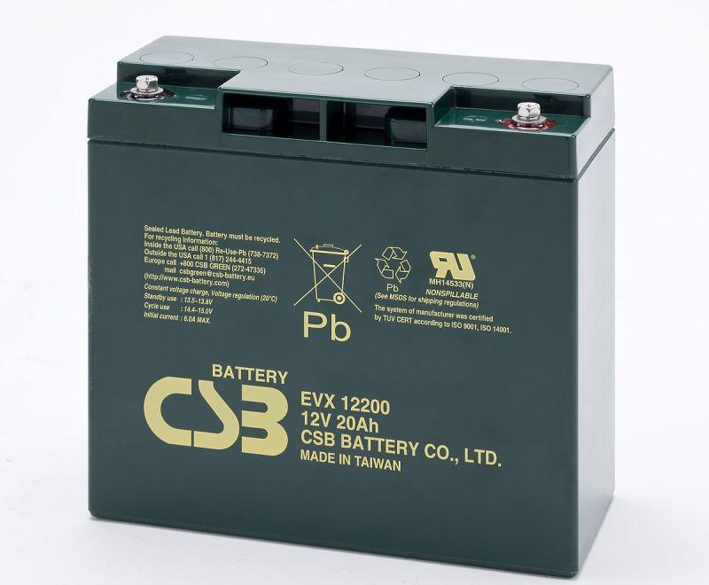 Аккумуляторная батарея CSB EVX 12200
