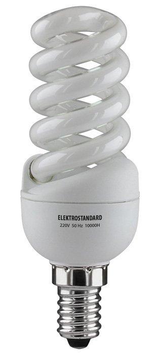 Энергосберегающая лампа Elektrostandard Мини-спираль E14 13 Вт 6500K