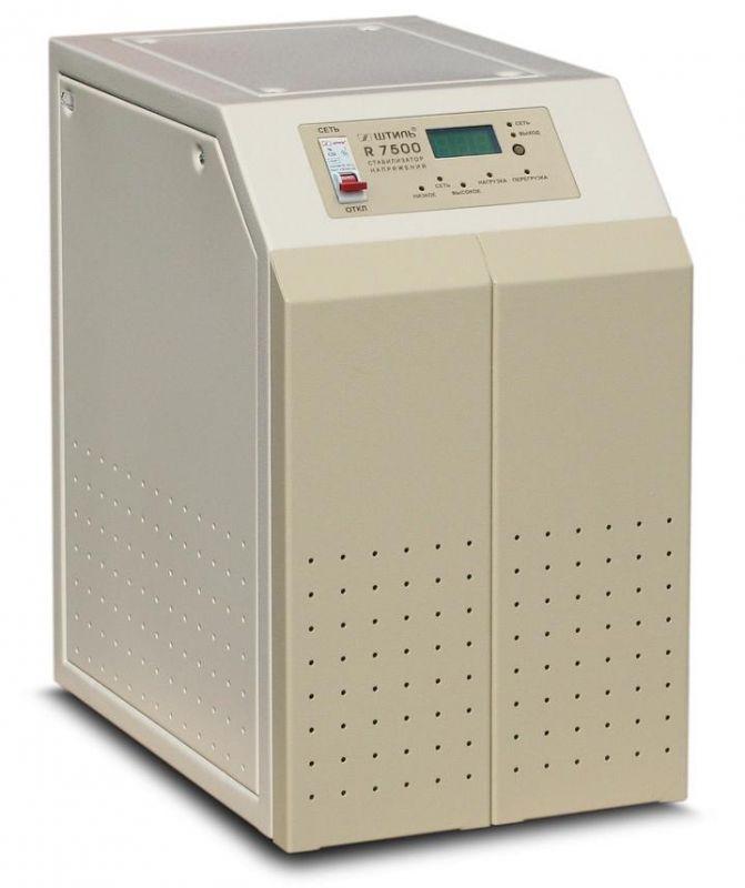 Однофазный стабилизатор напряжения ШТИЛЬ R 7500