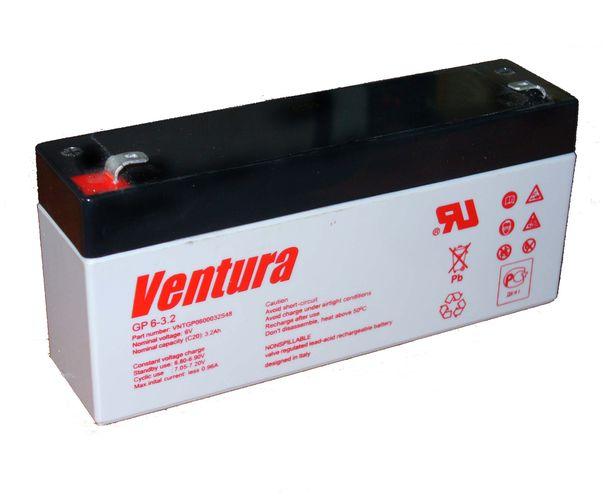 Аккумуляторная батарея VENTURA GP 6-3,2-S