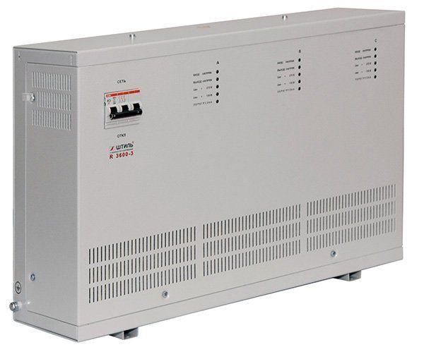 Трехфазный стабилизатор напряжения ШТИЛЬ R 3600-3