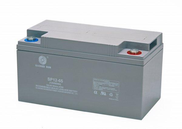 Аккумуляторная батарея Sacred Sun SP12-65