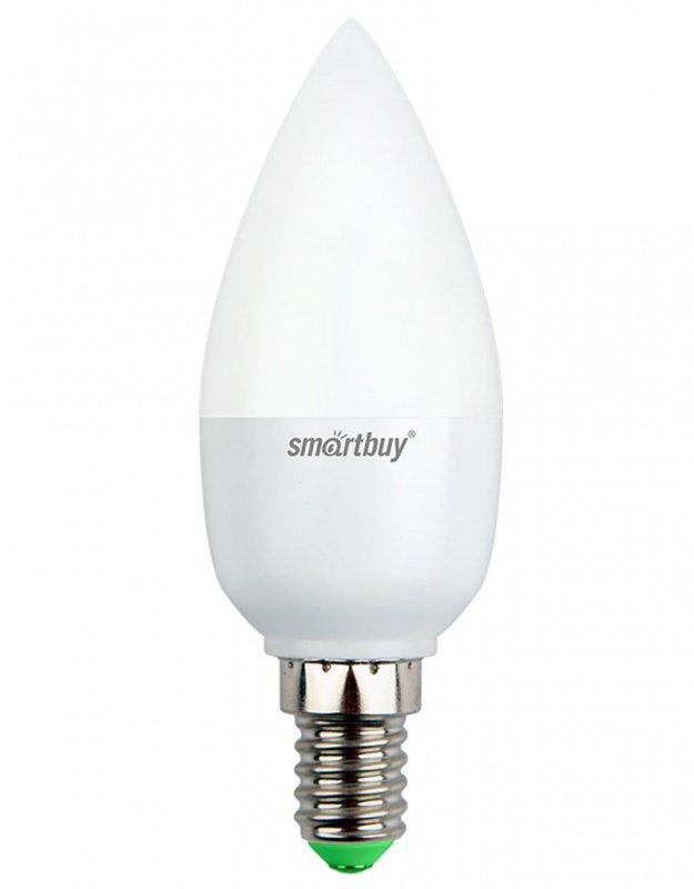 Светодиодная (LED) Лампа Smartbuy-C37-07W/4000/E14 (SBL-C37-07-40K-E14)