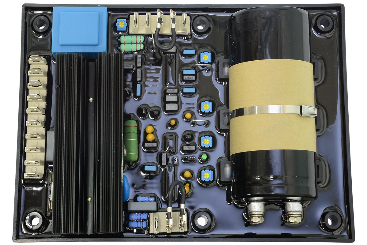 Регулятор напряжения Leroy-Somer R449/R449 AVR