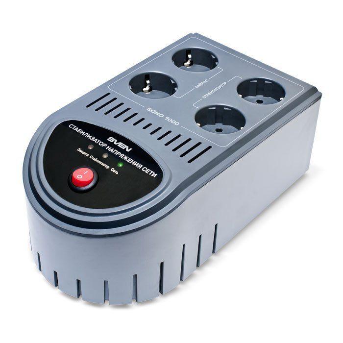 Автоматический стабилизатор напряжения SVEN SOHO 1000