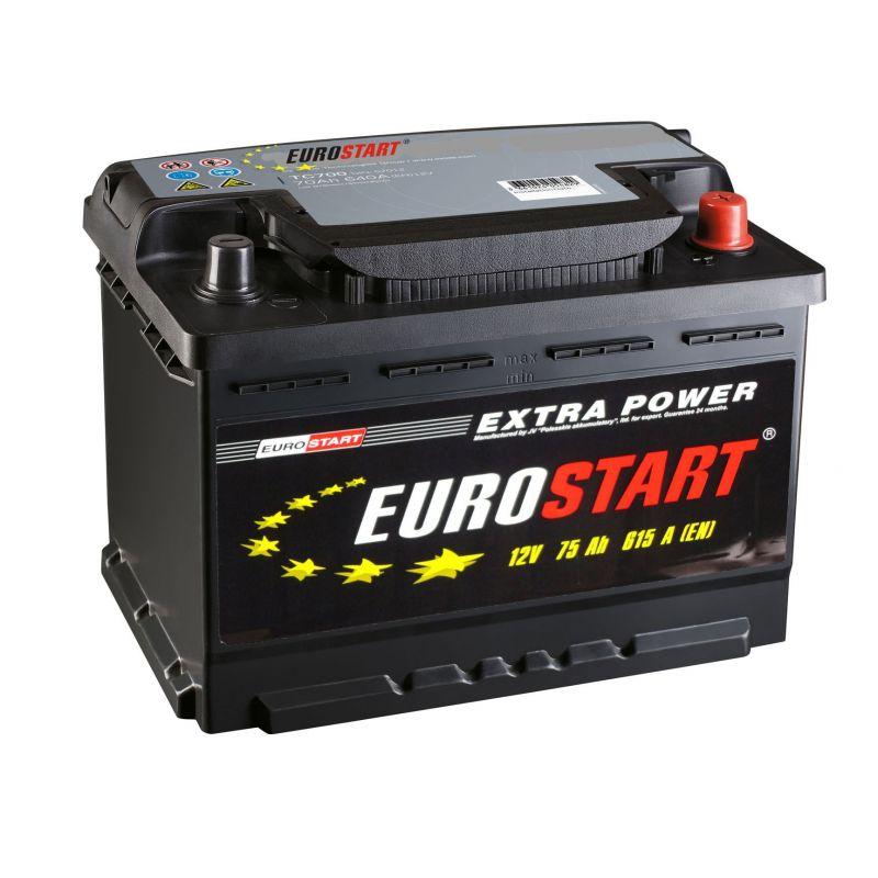 Аккумуляторная батарея EUROSTART Extra Power 75 L