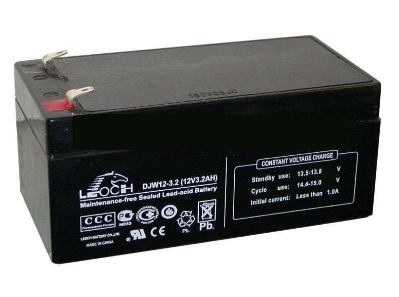 Аккумуляторная батарея Leoch Battery DJW 12-3.2