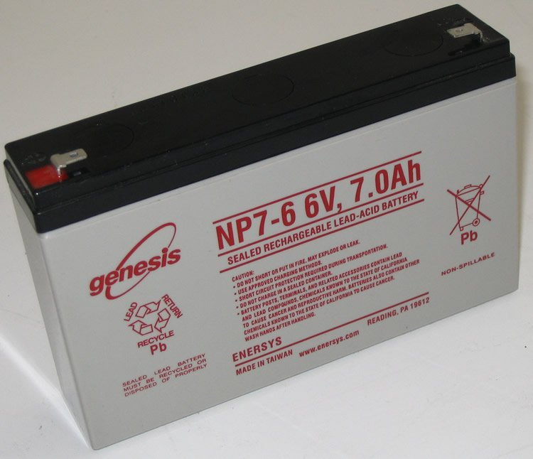 Аккумуляторная батарея EnerSys Genesis NP7-6