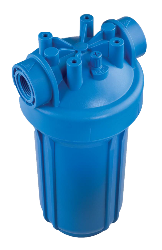 """Фильтр для очистки водопроводной воды ATLAS filtri DP BIG S20 - 1"""" 1-2 IN AB, синий"""